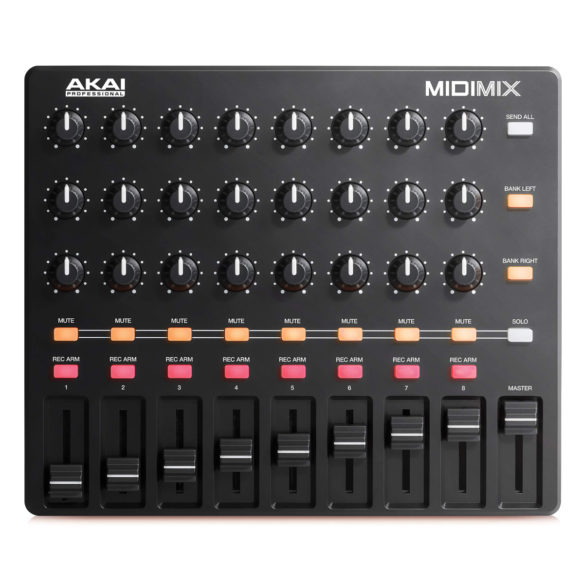 Controladora Akai MIDIMIX