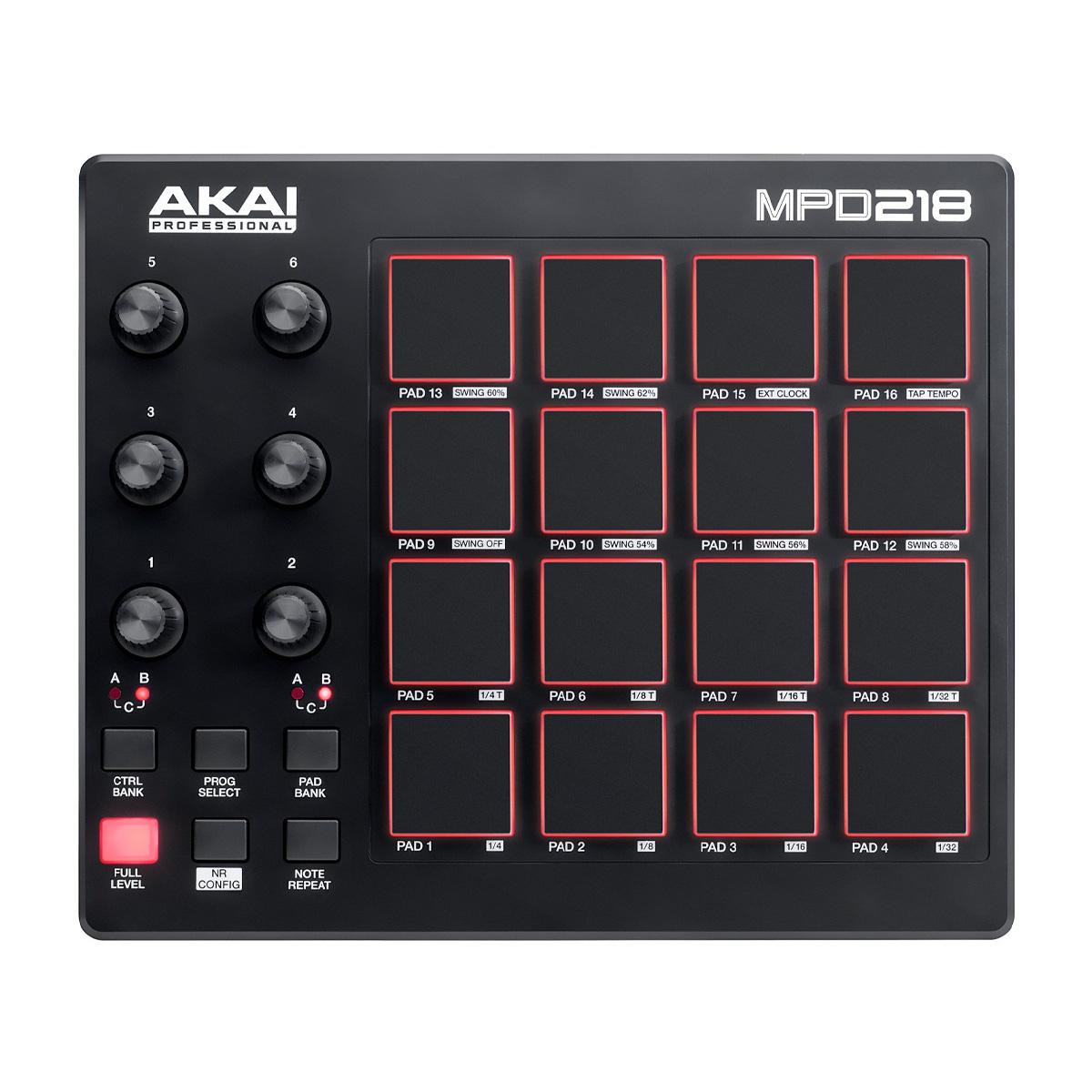 Controladora Akai MPD218