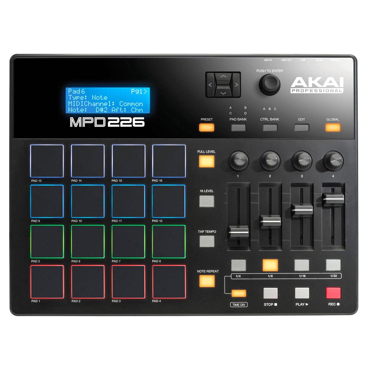 Controladora Akai MPD226