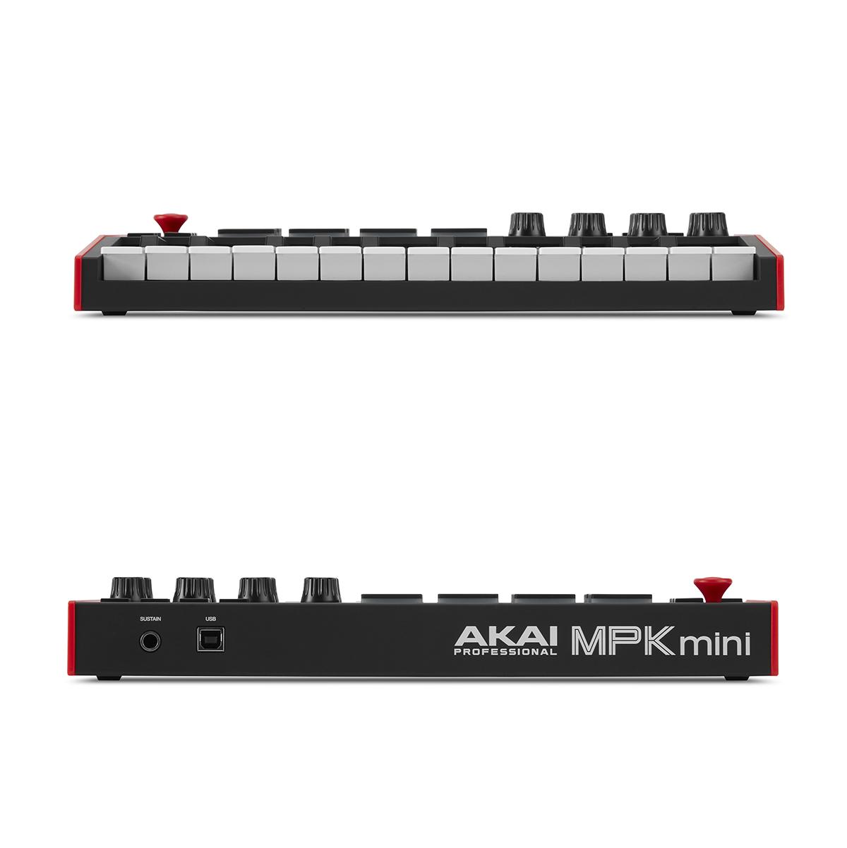 Controladora Akai Mpk Mini MK3 25 Teclas