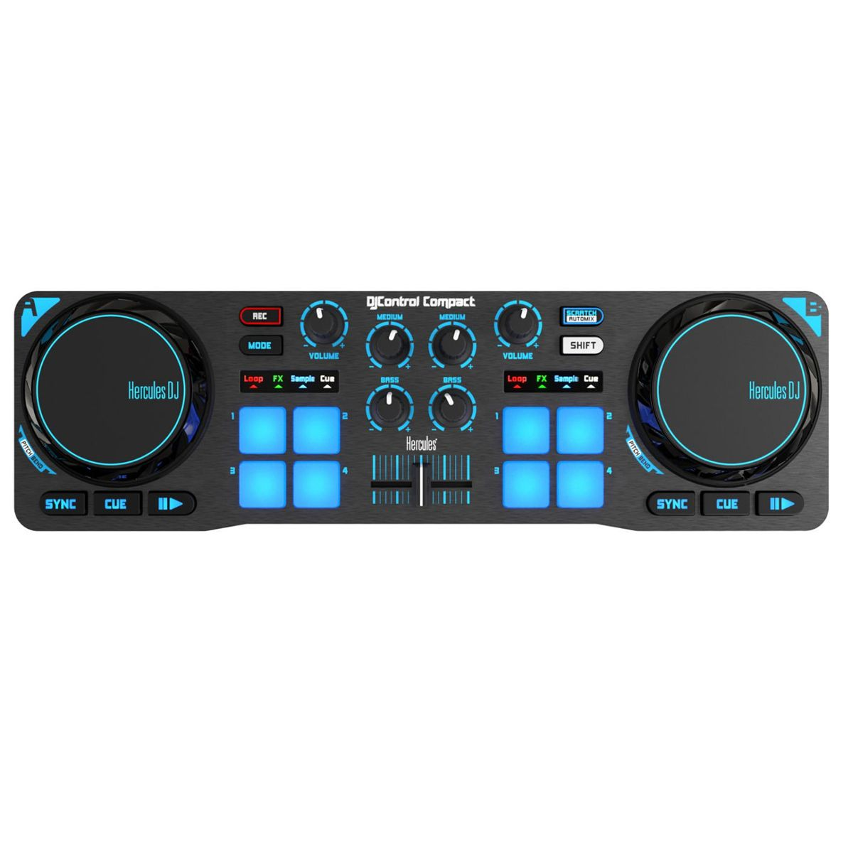 Controladora Hercules DJ Control Compact