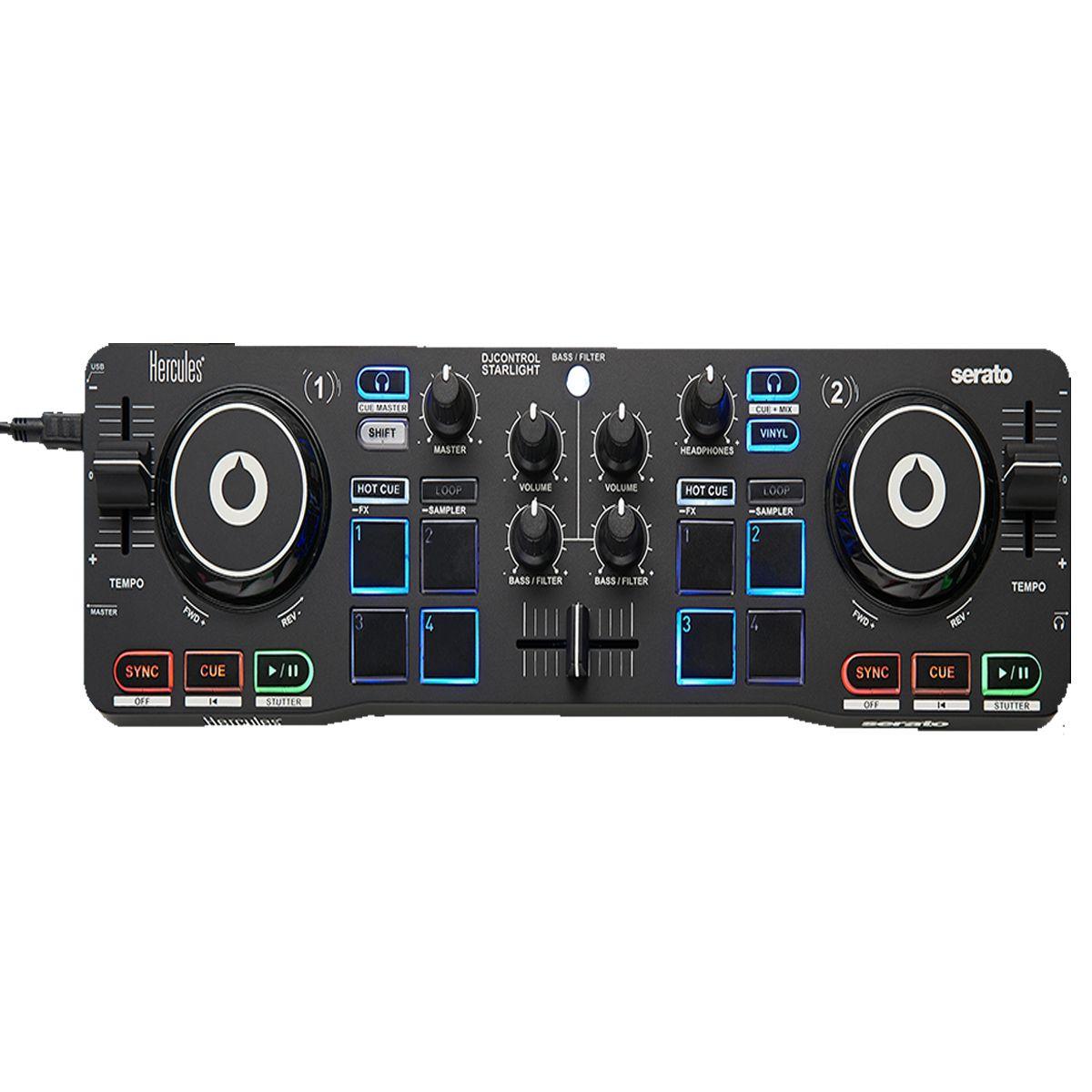 Controladora Hercules DJ Control Starlight