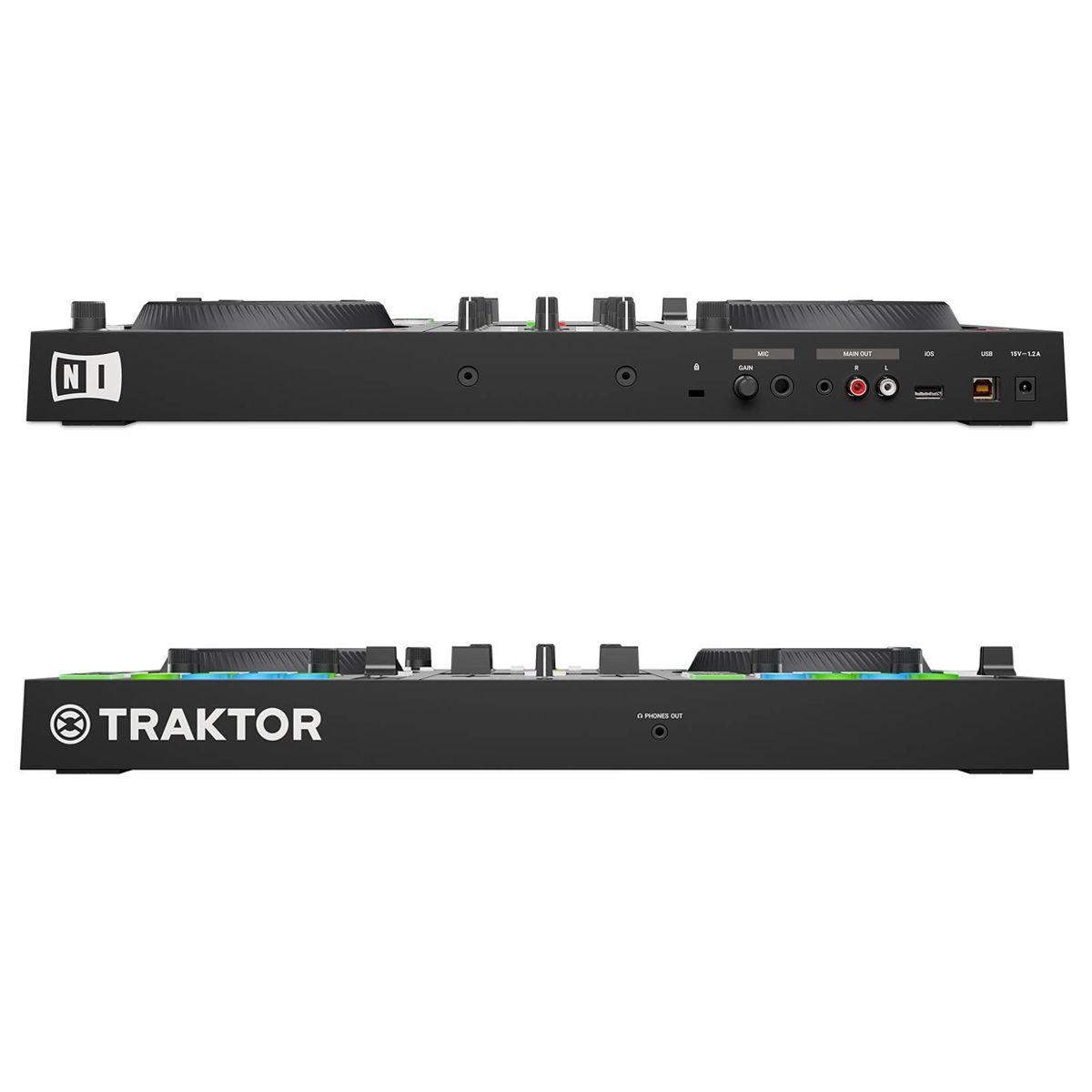 Controladora Native Instruments Traktor Kontrol S2 MK3 com bag UDG