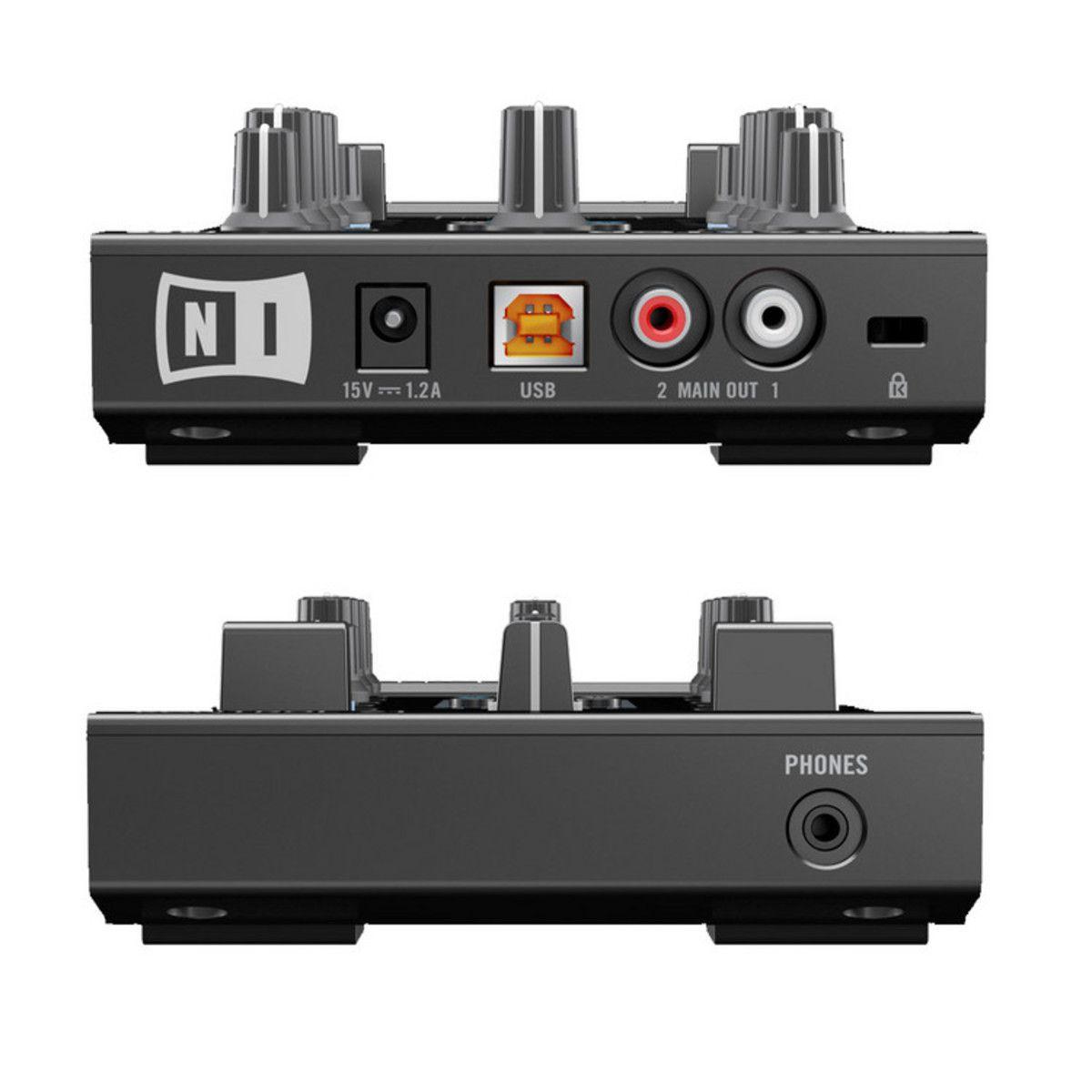 Controladora Native Instruments Traktor Kontrol Z1 com case UDG