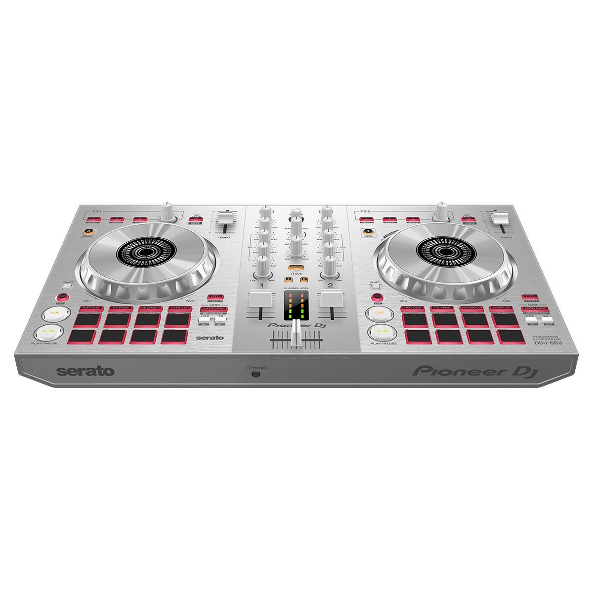 Controladora Pioneer DJ DDJ SB3-S  Silver