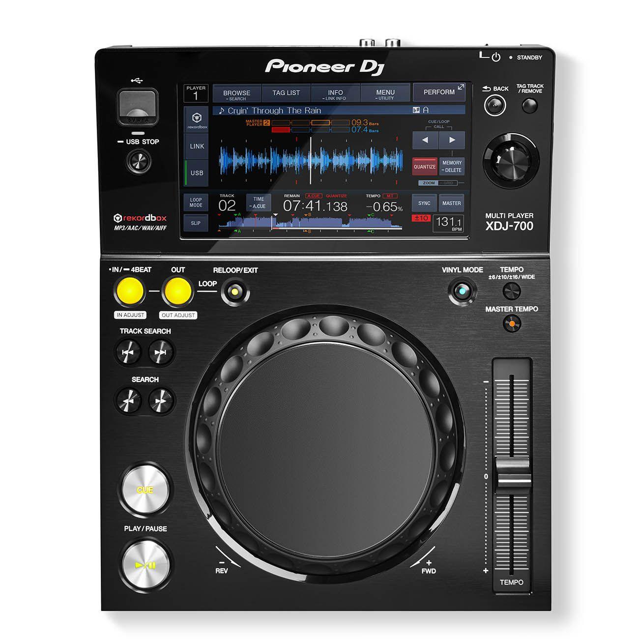 Controladora Pioneer DJ XDJ 700