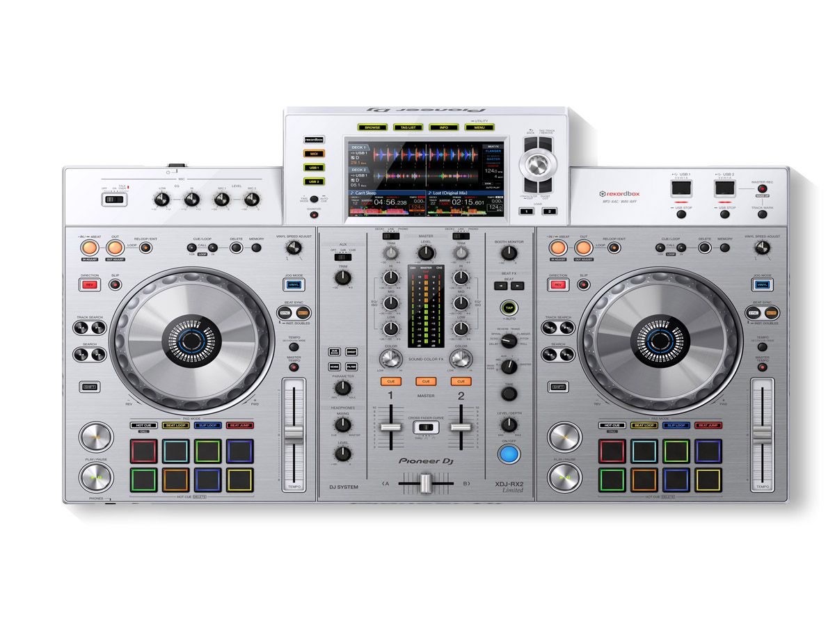 Controladora Pioneer Dj XDJ RX2 Branco