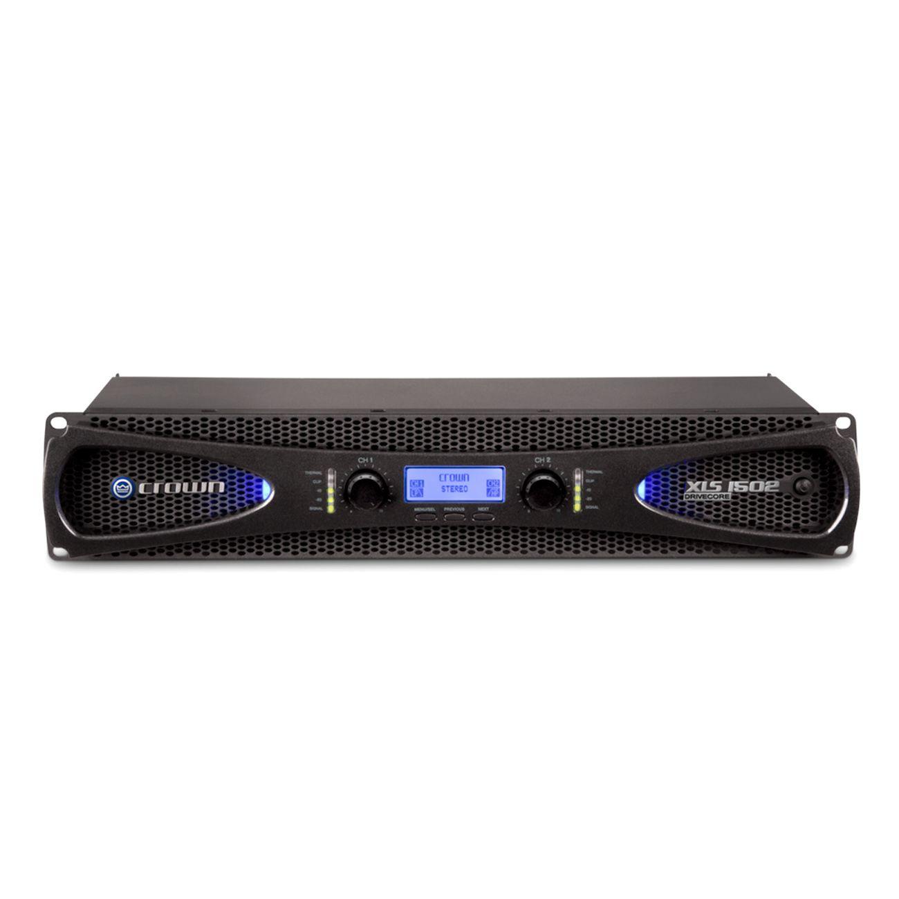 Amplificador Potência Crown Xls1502 1050w 8 Ohms 220v
