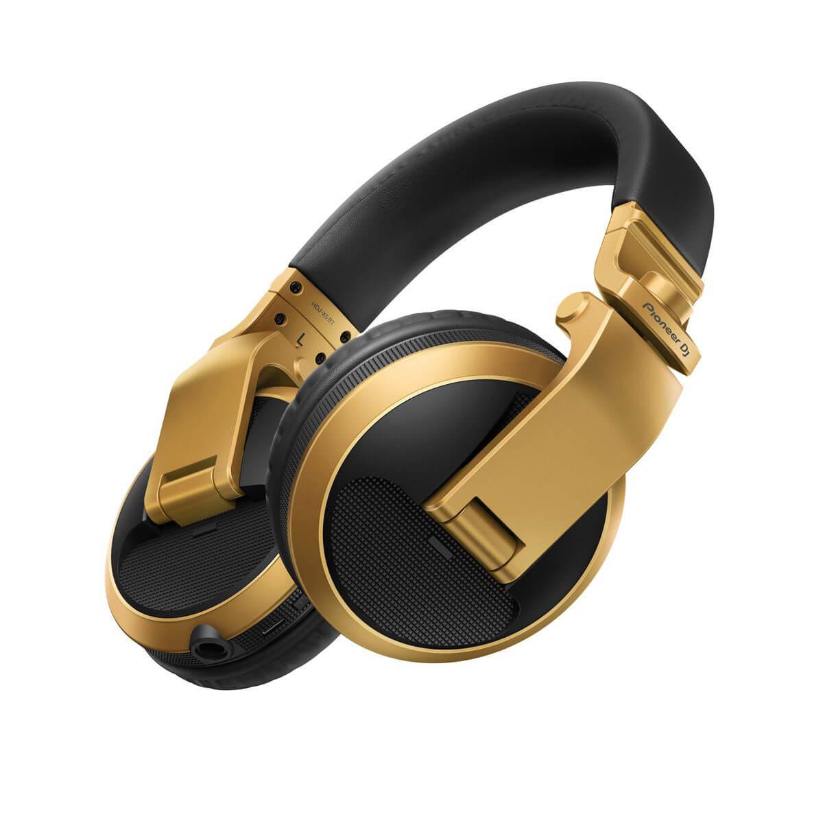 Fone De Ouvido Pioneer DJ HDJ-X5BT Dourado