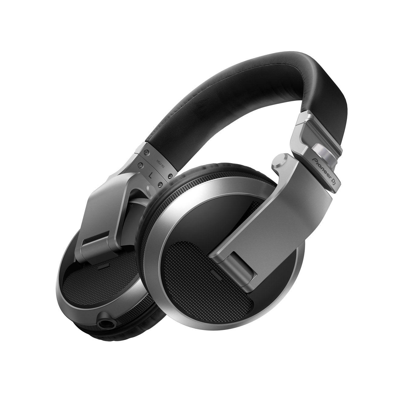 Fone De Ouvido Pioneer Para DJ Hdj X5 Prata