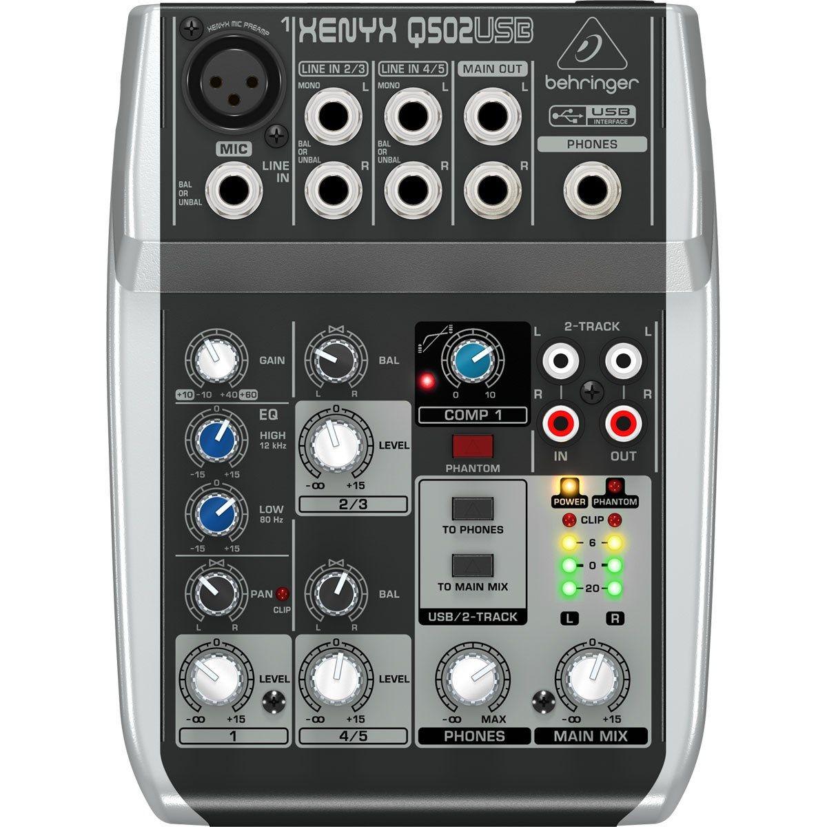 Mesa Behringer Xenyx Q502 Mixer 110v