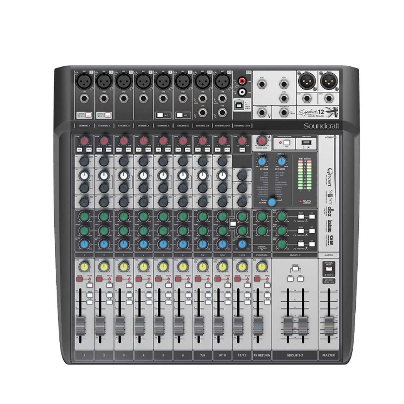 Mesa De Som Soundcraft Signature 12mtk USB Multipista