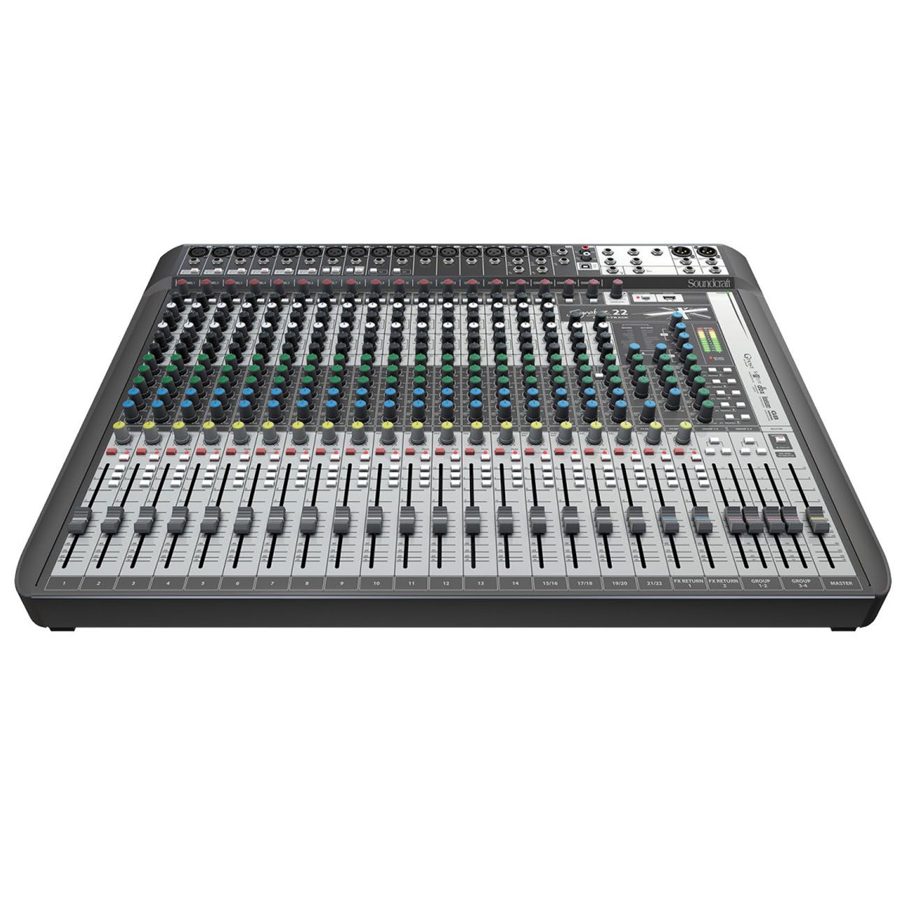 Mesa De Som Soundcraft Signature 22mtk USB Multipista