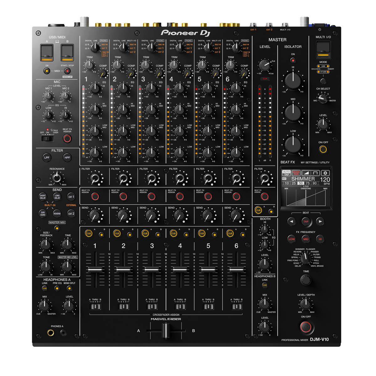 Mixer Pioneer DJ DJM-V10