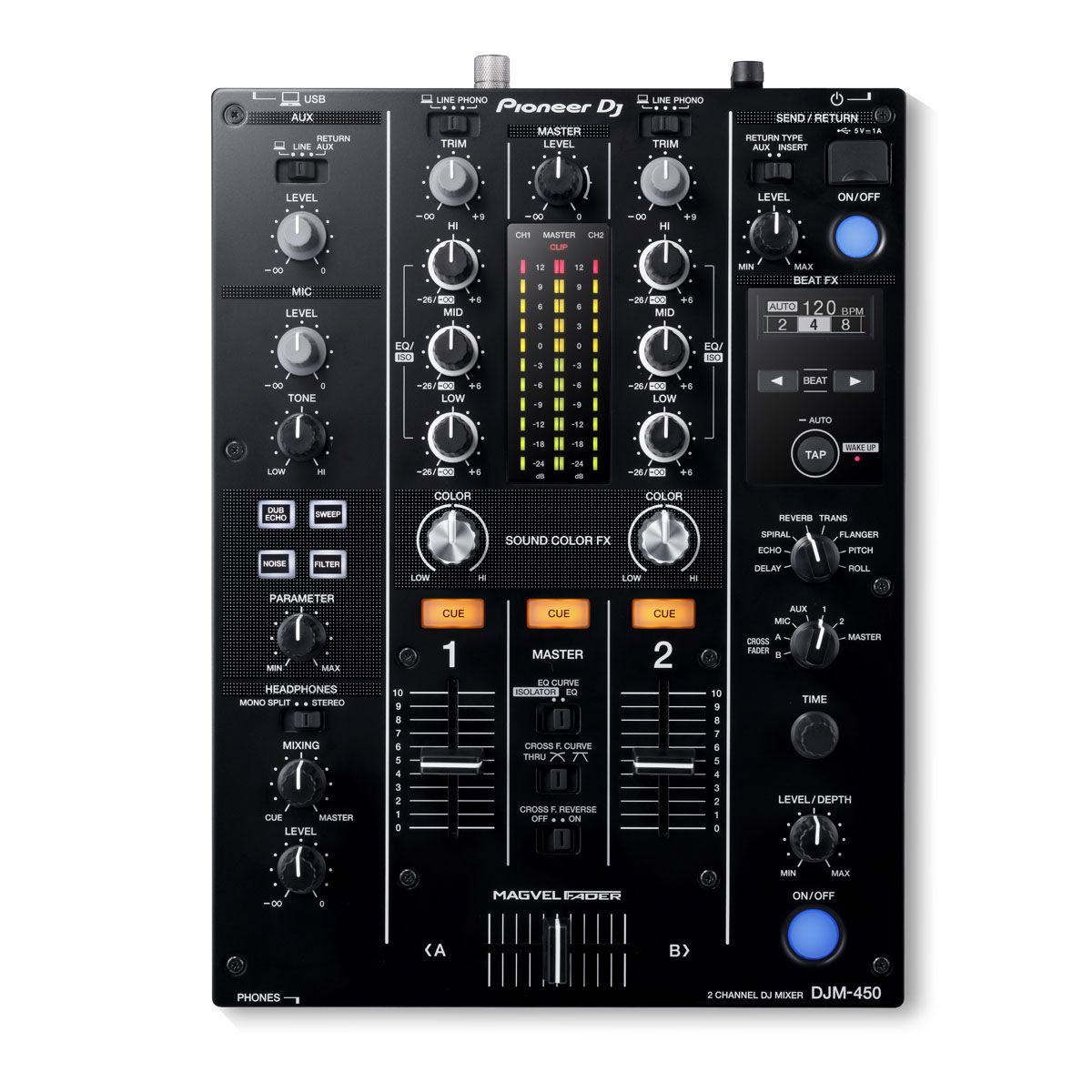 Mixer Pioneer DJ DJM-450