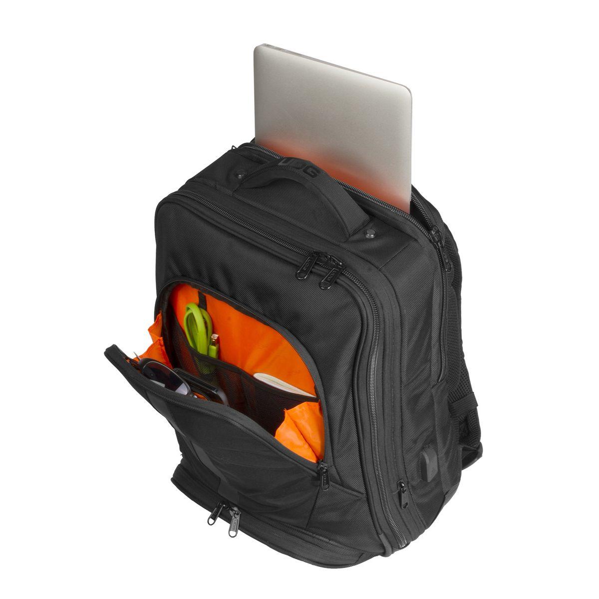 Mochila para DJ Ultimate Slim Preto e laranja UDG U9108BL/OR