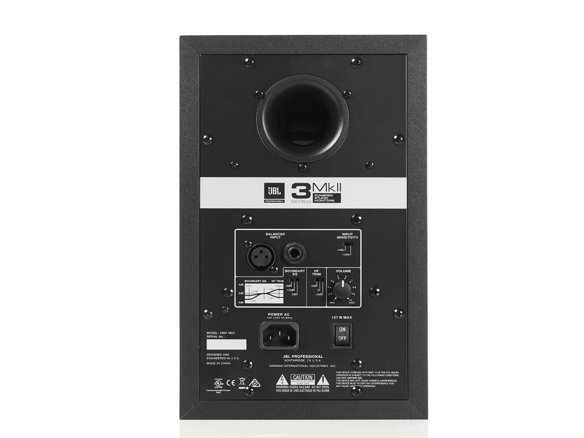 Monitor De Referência Jbl 305p Mkii Ativo Jbl305p Unidade