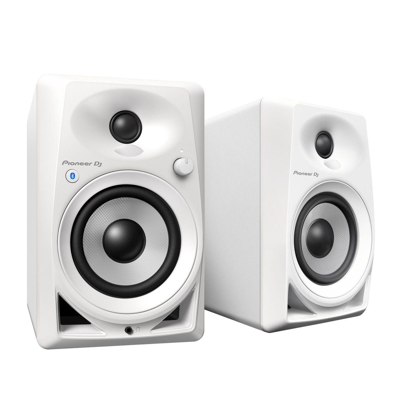 Monitor de Referência Pioneer DM40BTW  Par Branco
