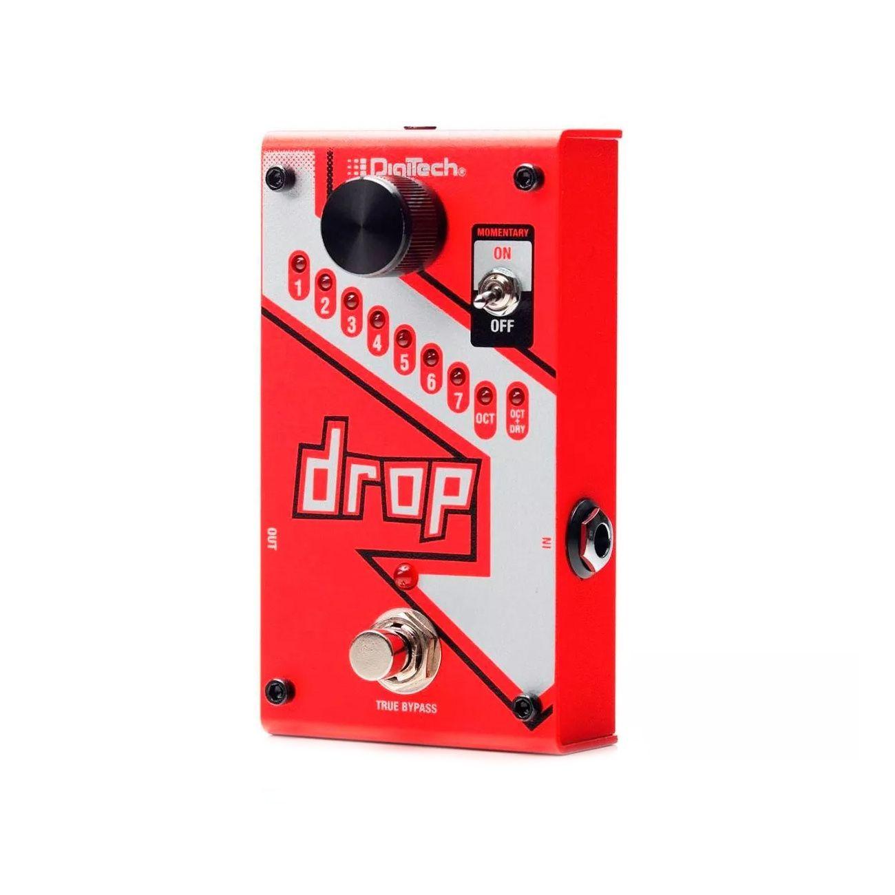 Pedal Digitech Para GuitarraThe Drop Polifônico  C/ Fonte