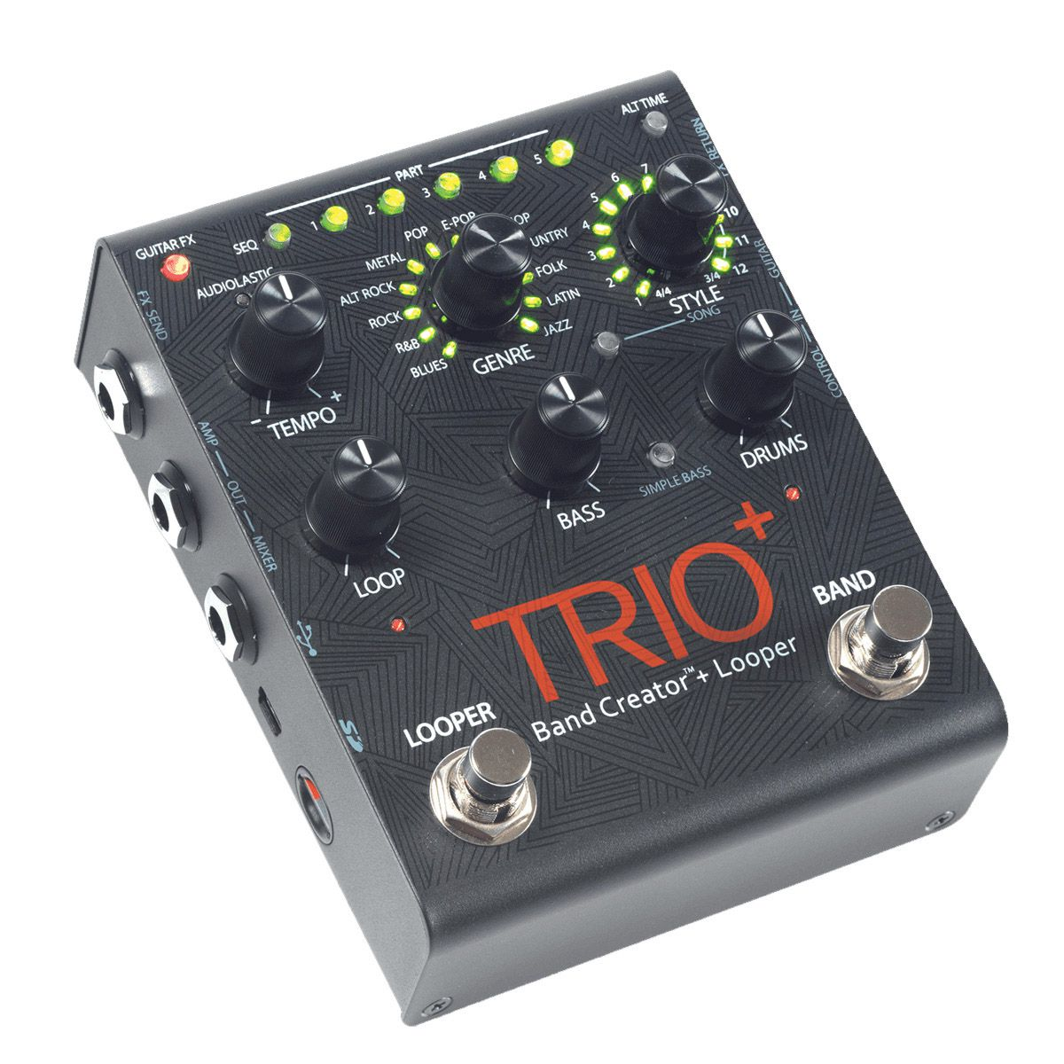 Pedal Guitarra Digitech Trio Plus Band Creator Looper