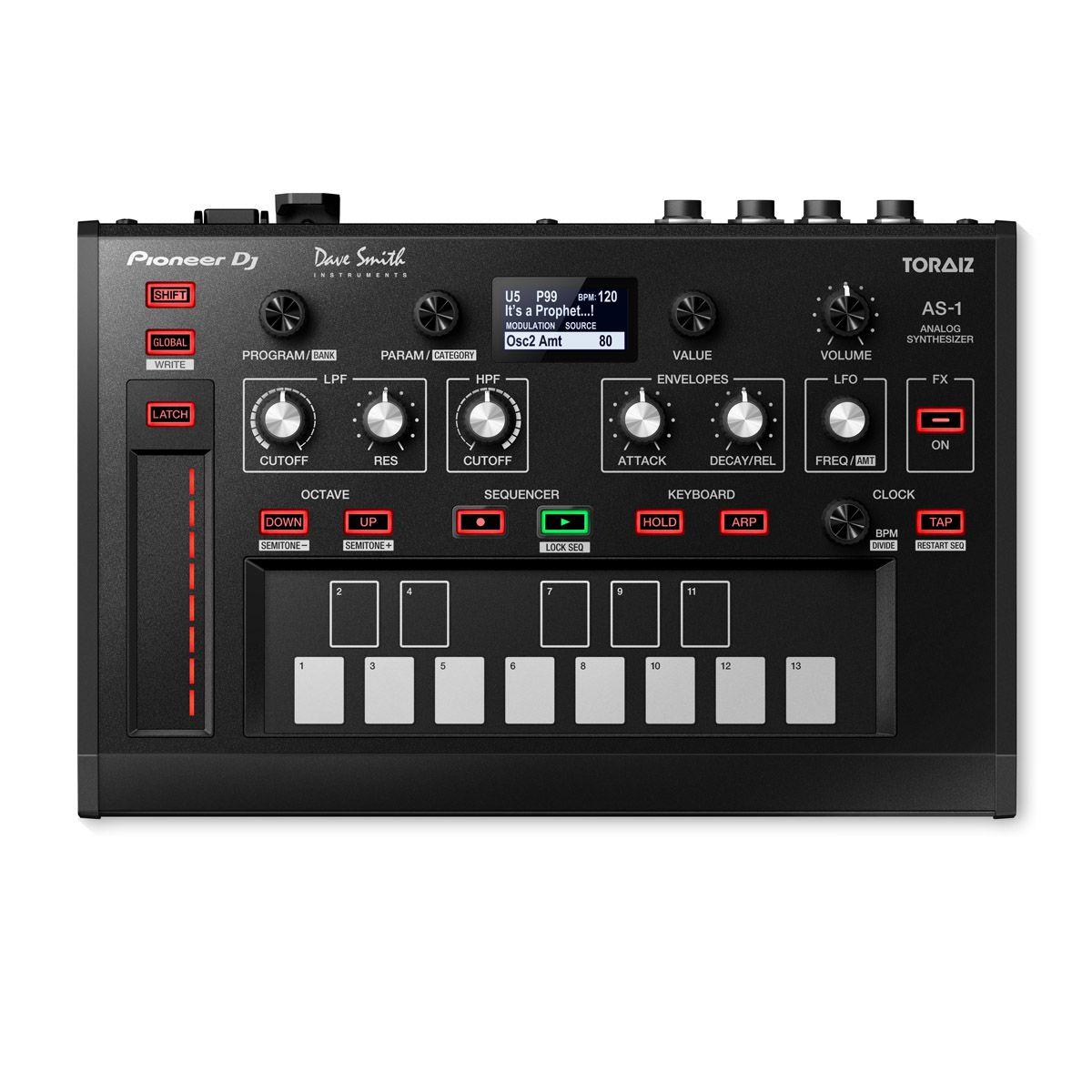 Sintetizador Analogico Pioneer DJ Toraiz AS1