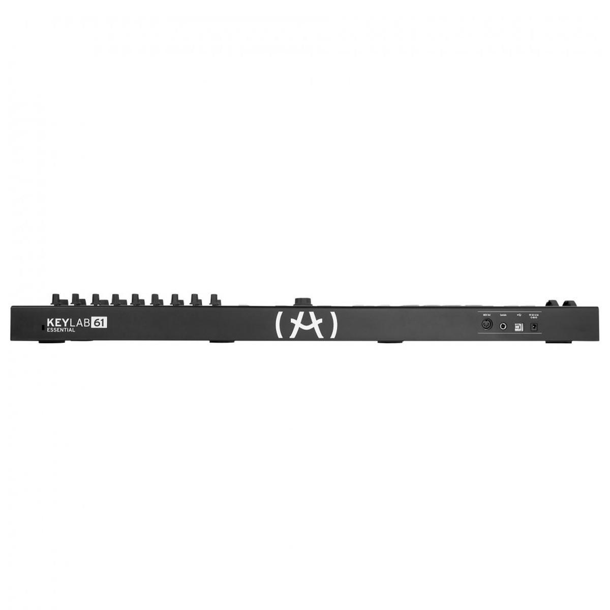 Teclado Controlador Arturia KeyLab Essential 61 Black