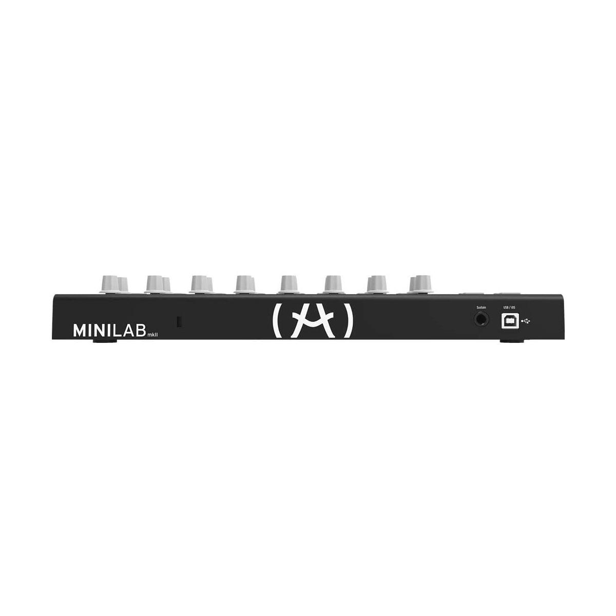 Teclado Controlador Arturia MiniLab MKII Inverted