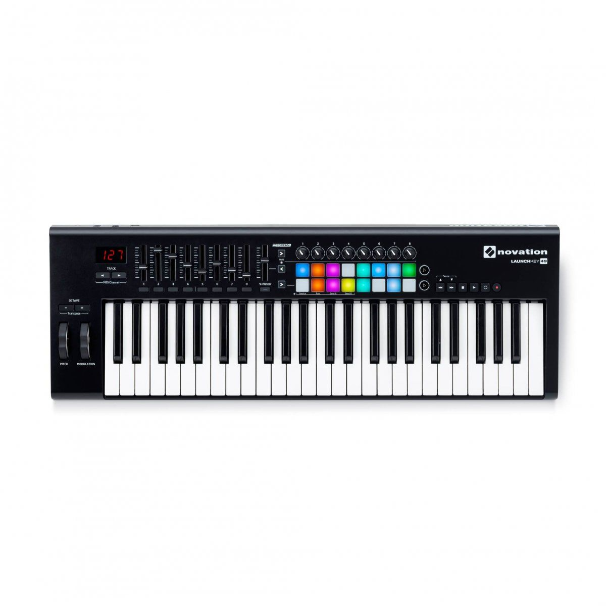 Teclado Controlador Midi Novation Launchkey 49 Mk2