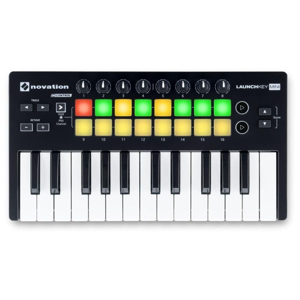 Teclado Controlador Novation Launchkey Mini Mk2 25 Teclas