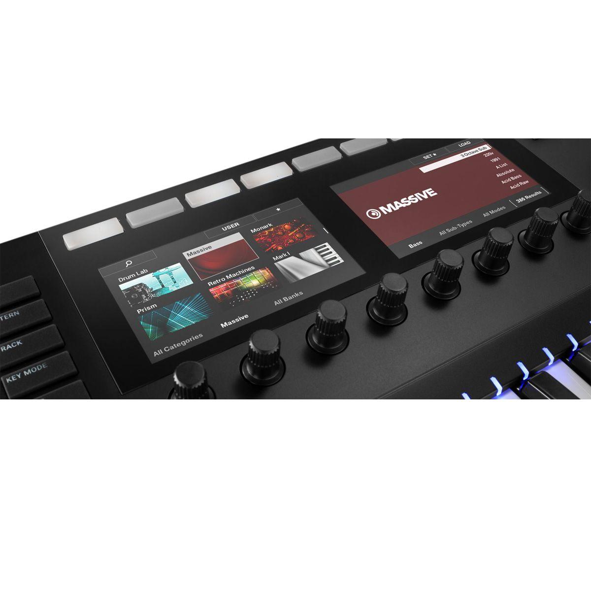 Teclado Native Instruments  Komplete Kontrol S61 MK2  61 Teclas