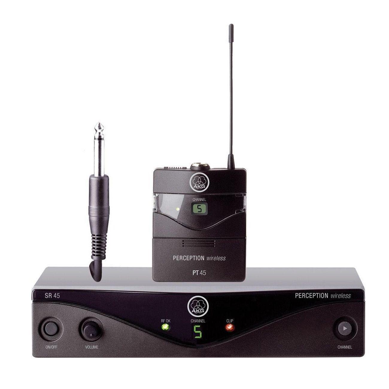 Transmissor Sem Fio Akg Pw45 Iset Para Instrumento