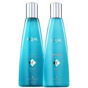 Mediterrani Equal Kit Shampoo+Condicionador 250ml  (brilho e alinhamento dos fios, cabelos ásperos, opacos e com maleabilidade comprometida/Linha Equal)