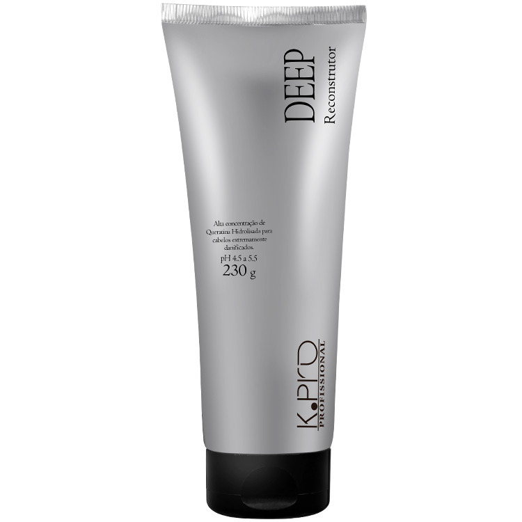 K.pro Deep Reconstrutor Tratamento 230gr (Todos os tipos de cabelo, principalmente os mais danificados, processados quimicamente, extremamente ressecados e descoloridos)