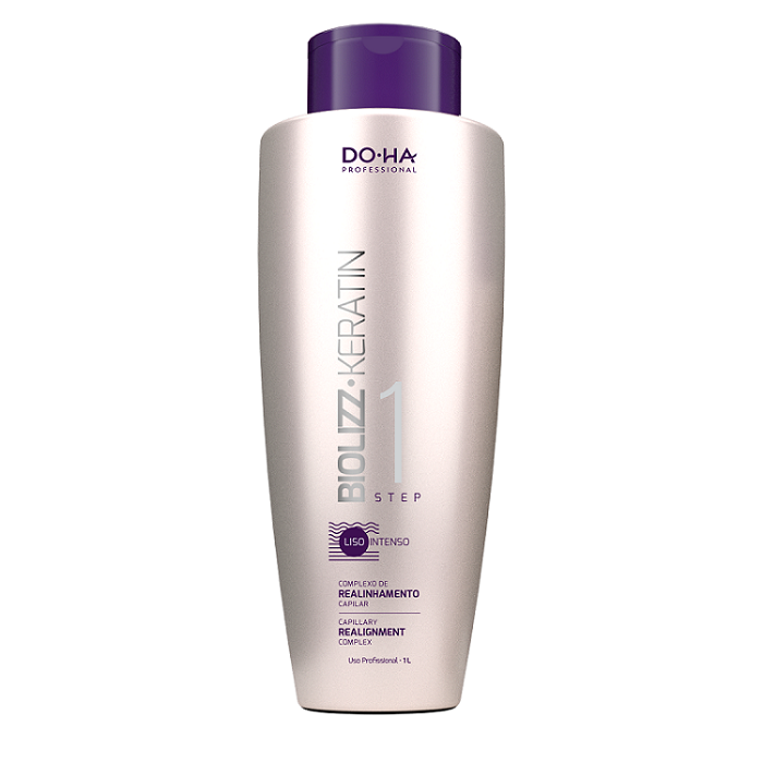 Doctor Hair Biolizz Keratin Escova Progressiva 1000ml passo 1 - DO.HA