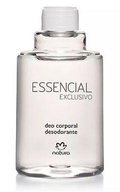 Refil Natura Essencial Exclusivo Desodorante 100ml Masculino