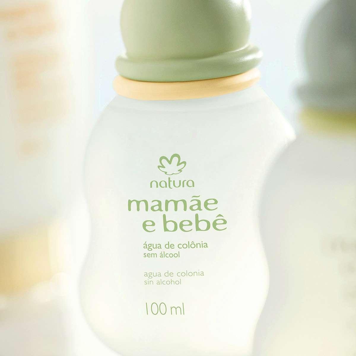 Natura Mamãe E Bebê Água De Colônia 100ml