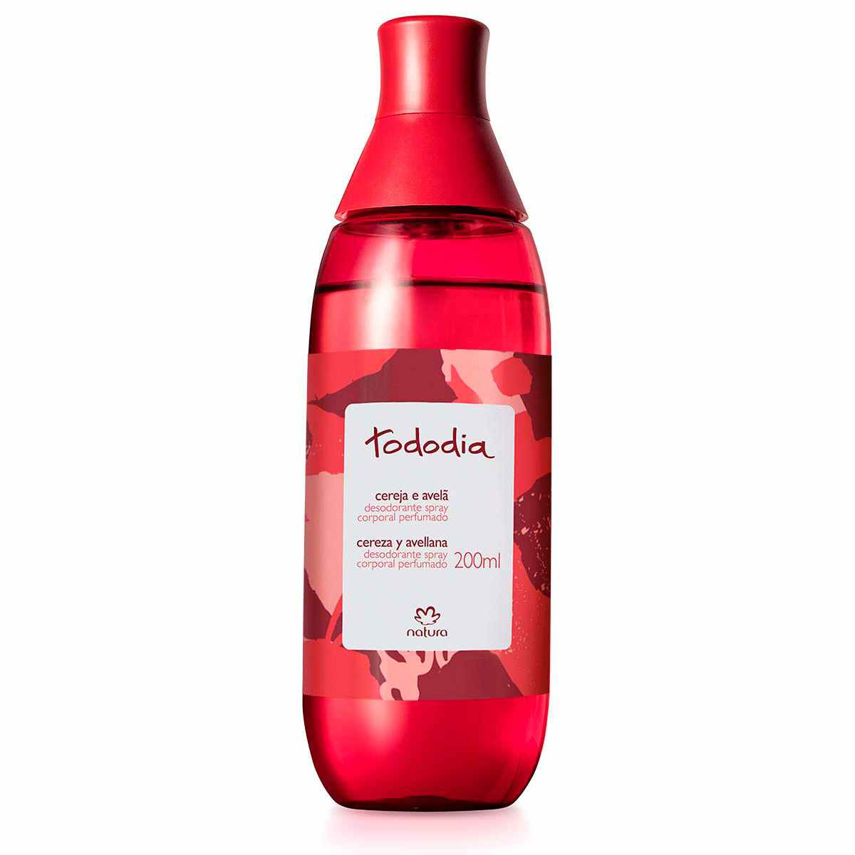 Natura Tododia Cereja e Avelã Desodorante Spray Corporal Perfumado 200ml