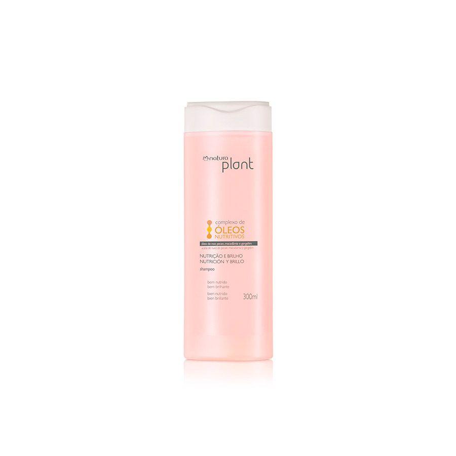 Shampoo Natura Plant Nutrição e Brilho 300ml