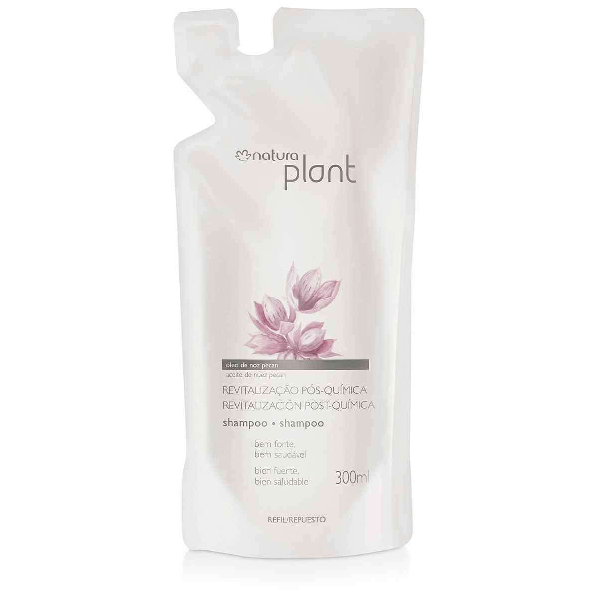 Shampoo Natura Plant Revitalização Pós Química 300ml