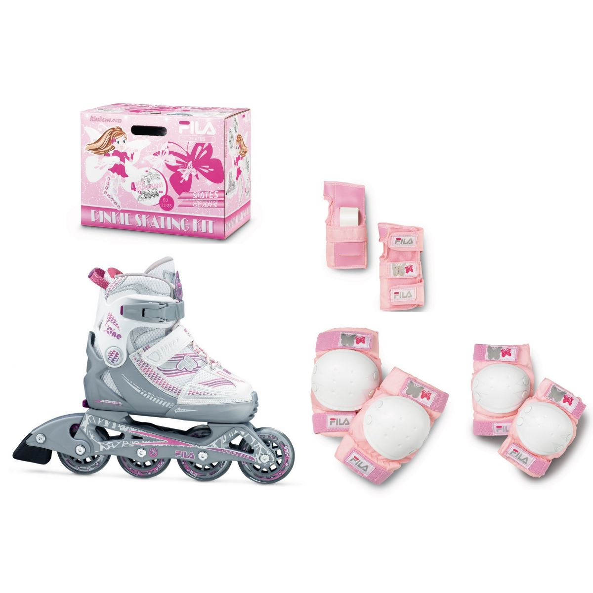 Combo Infantil Patins X-One 2 Set Girl