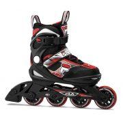 Combo Infantil Patins Ajustável, Capacete e Proteções J-One Boy Fila Skates -  (SEM CAIXA)