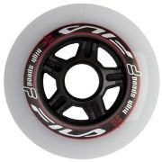 Kit de Rodas Fila WHITE/RED 6X90MM (6un)