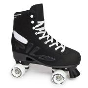 Patins Quad Logo Black Abec 7
