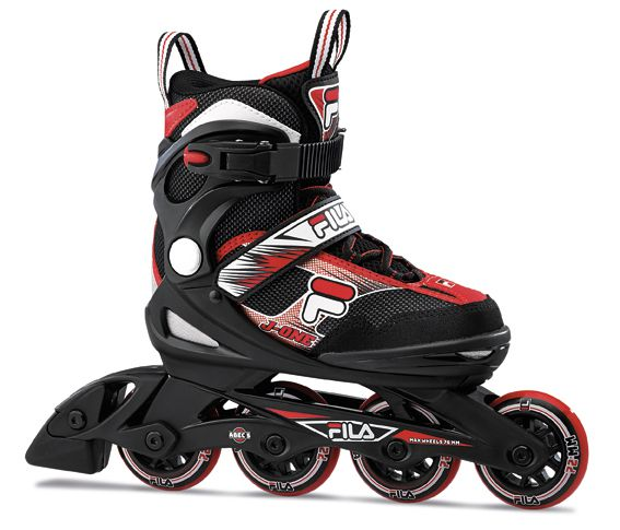 Combo Infantil Patins Ajustável, Capacete e Proteções J-One Boy Fila Skates