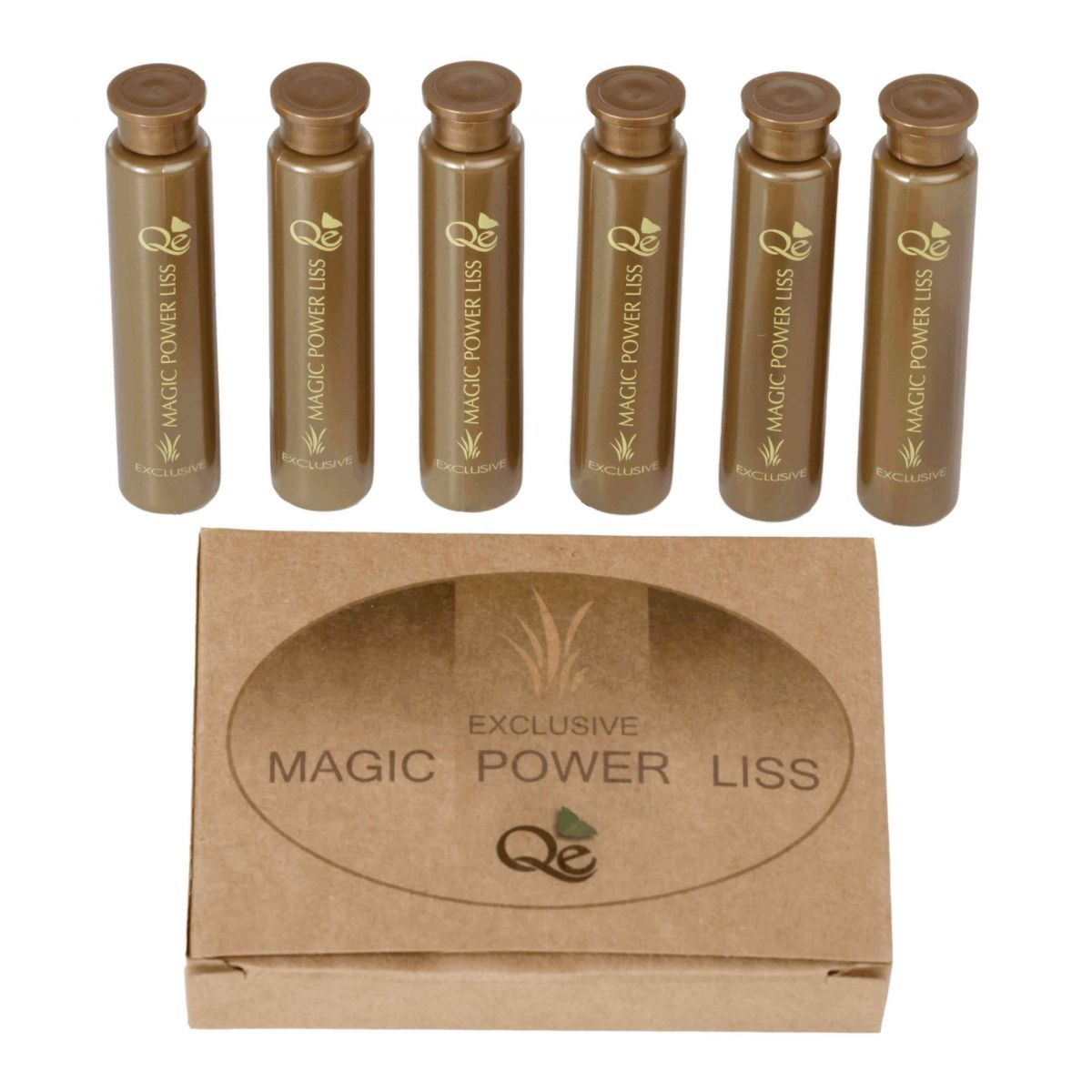 MAGIC POWER LISS - AMPOLA 15ML (CAIXA C/6)  - LOJA QUINTA ESSENCIA