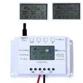 Controlador de carga solar 10A MPPT (12V/24V)