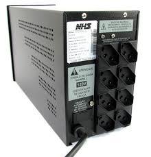 Nobreak NHS  Compact Plus II 1200 Bivolt - 1,2 kva- Bivolt / 110 / 220v