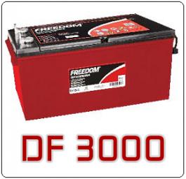 Bateria Estacionária Freedom DF3000 185Ah