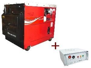 Gerador De Energia A Diesel 6.0 Kva  Silenciado - com QTA