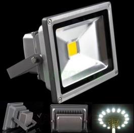 Refletor LED 10w branco frio 6500k BIVOLT ( ILUMINAÇÃO EXTERNA )